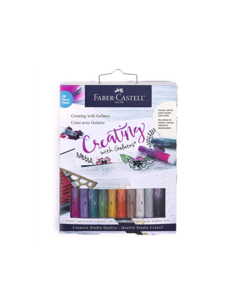 Faber Castell Gelatos Creating with Gelatos Kit