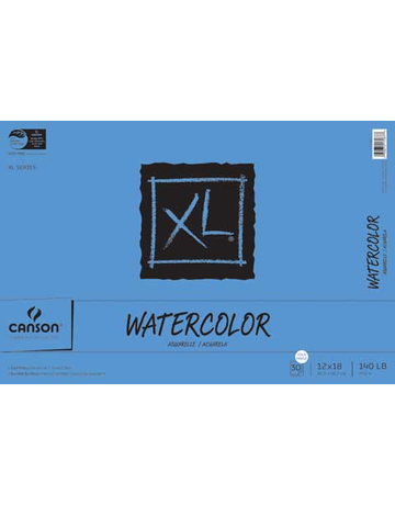XL Watercolor Pad 12x18 30 sheets/pad
