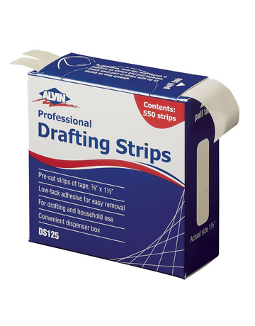 Drafting Strips by Alvin 550 count