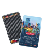 Procolour Pencil by Derwent 12 set tin