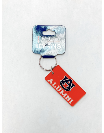 Rectangle AU Alumni Keychain
