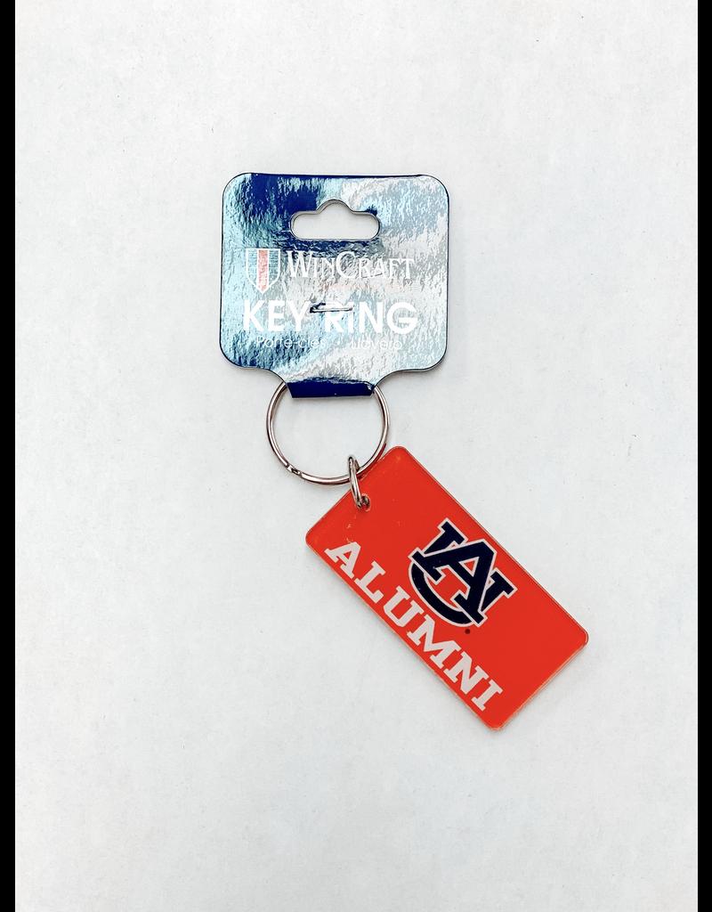 Rectangle AU Alumni Keychain
