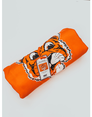 MV Sport Old Aubie Sweatshirt Blanket Orange