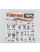 28 Pack Auburn Family Movable Decals