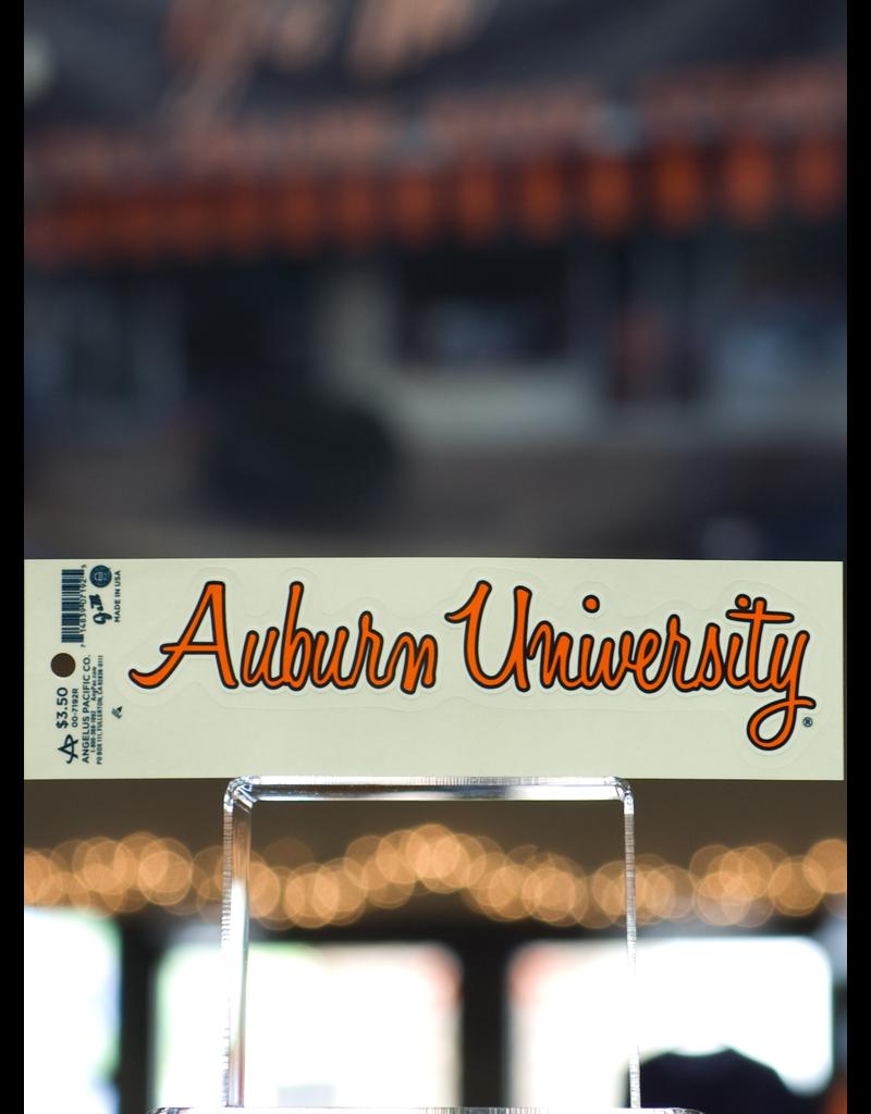 Script Auburn Univ. Decal
