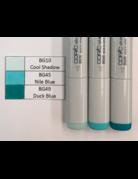 Copic Marker Set-Blue Green BG10, BG45, BG49