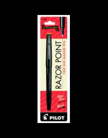 Pilot razor point pen black