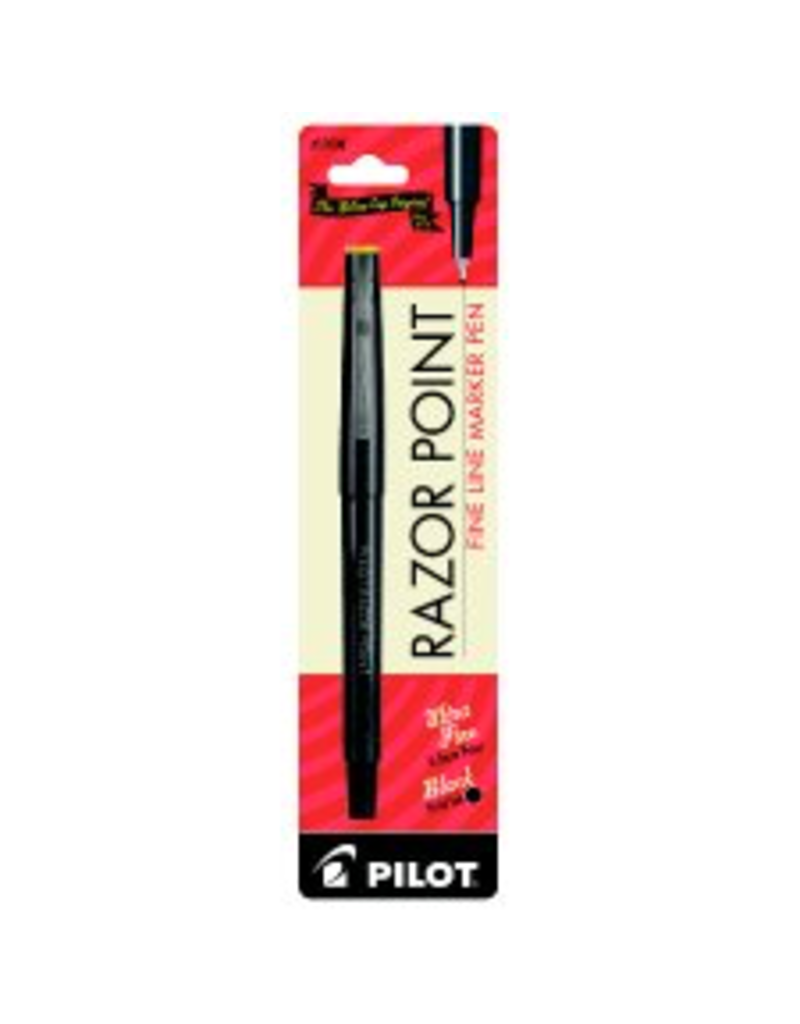 Pilot razor point pen black