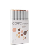 Copic Sketch Marker Skin Tones Set 6/pc
