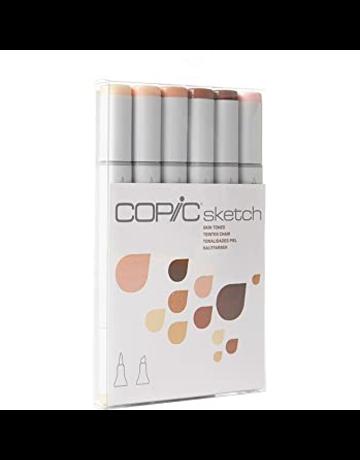 Copic Sketch Marker Skin Tones Set 6/pc