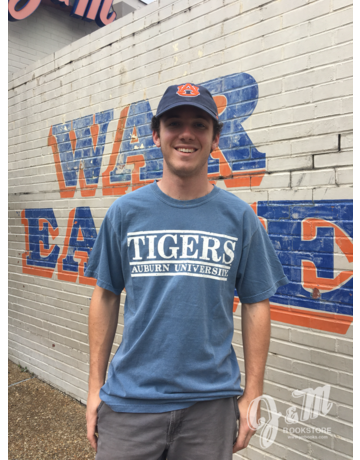 MV Sport Tigers Auburn University Three Bar T-Shirt