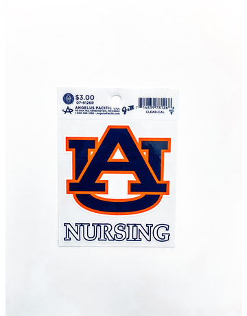AU Nursing Decal