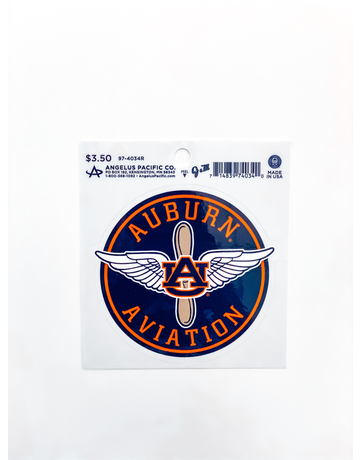 AU Aviation Decal