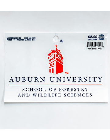 Forestry Wildlife Decal