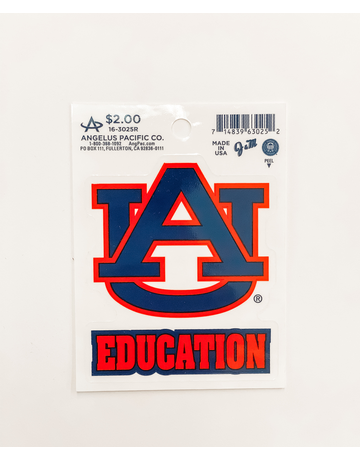 AU Education decal