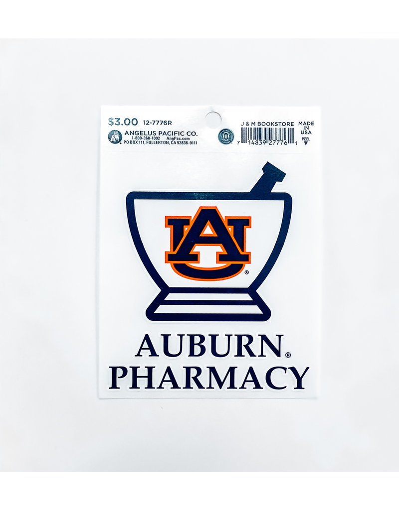 Auburn Pharmacy Decal
