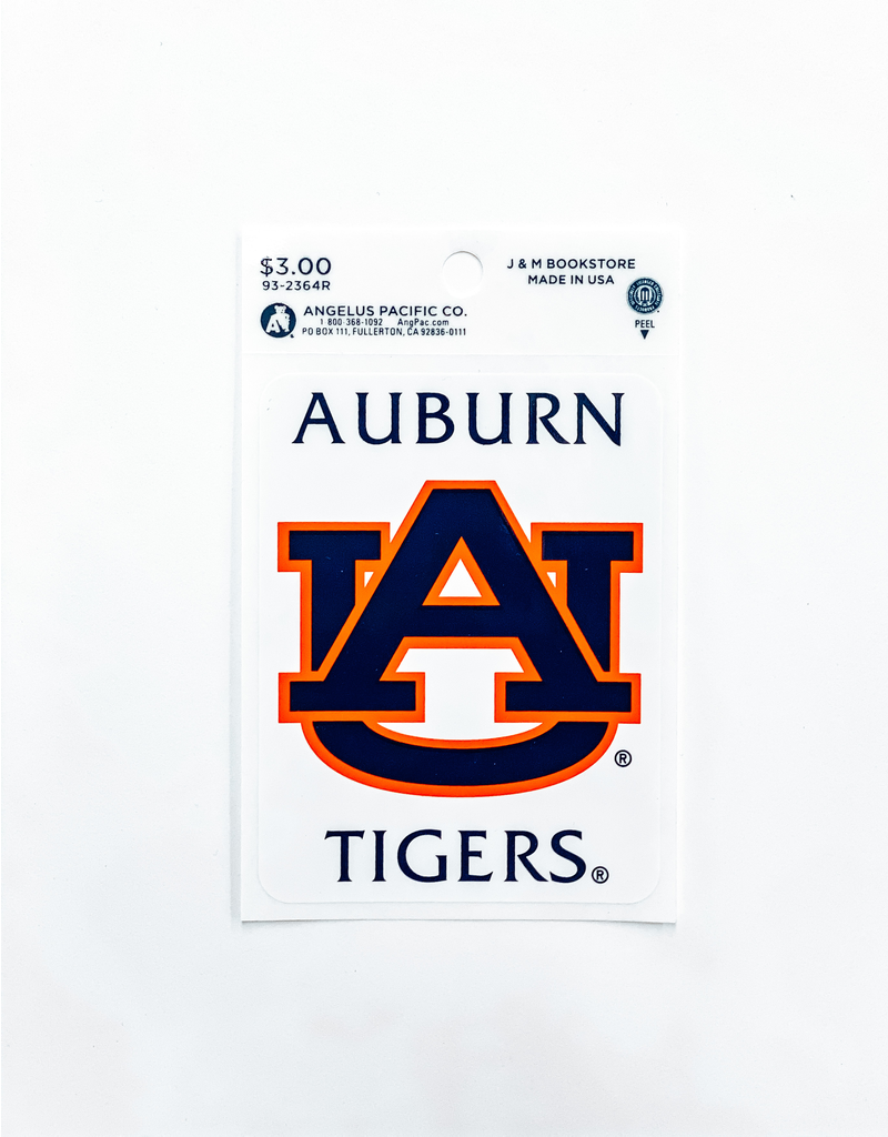 Auburn AU Tigers Decal