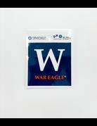 W - War Eagle Decal
