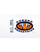 Auburn Tiger Eyes Equestrian Decal