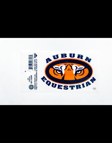 Auburn Tiger Eyes Equestrian Decal