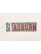 Block Auburn Tiger Stripe Decal