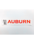 Block Auburn Swimming Decal