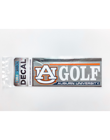 AU Golf Decal