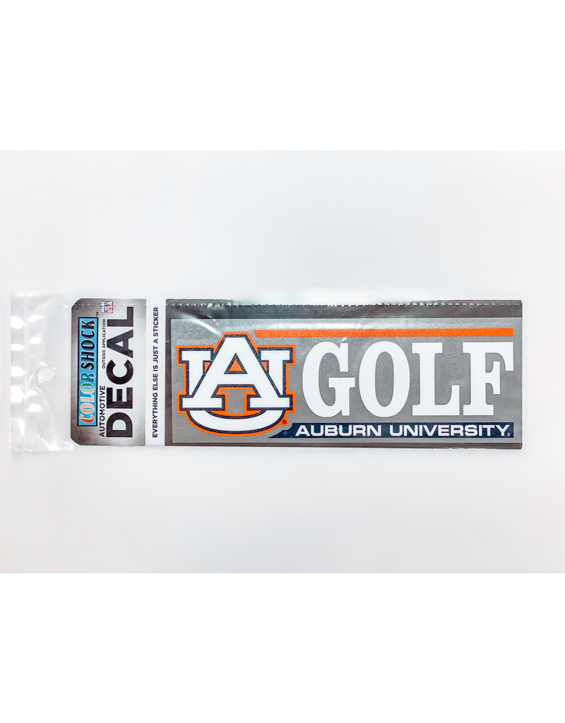 AU Golf Decal