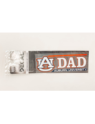 AU Dad Auburn University Decal