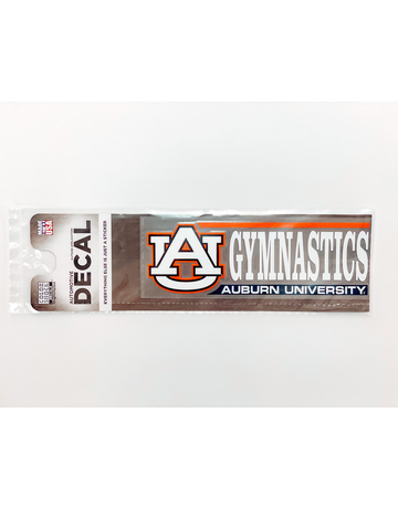 AU Gymnastics Auburn University Decal