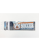 AU Soccer Auburn University Decal