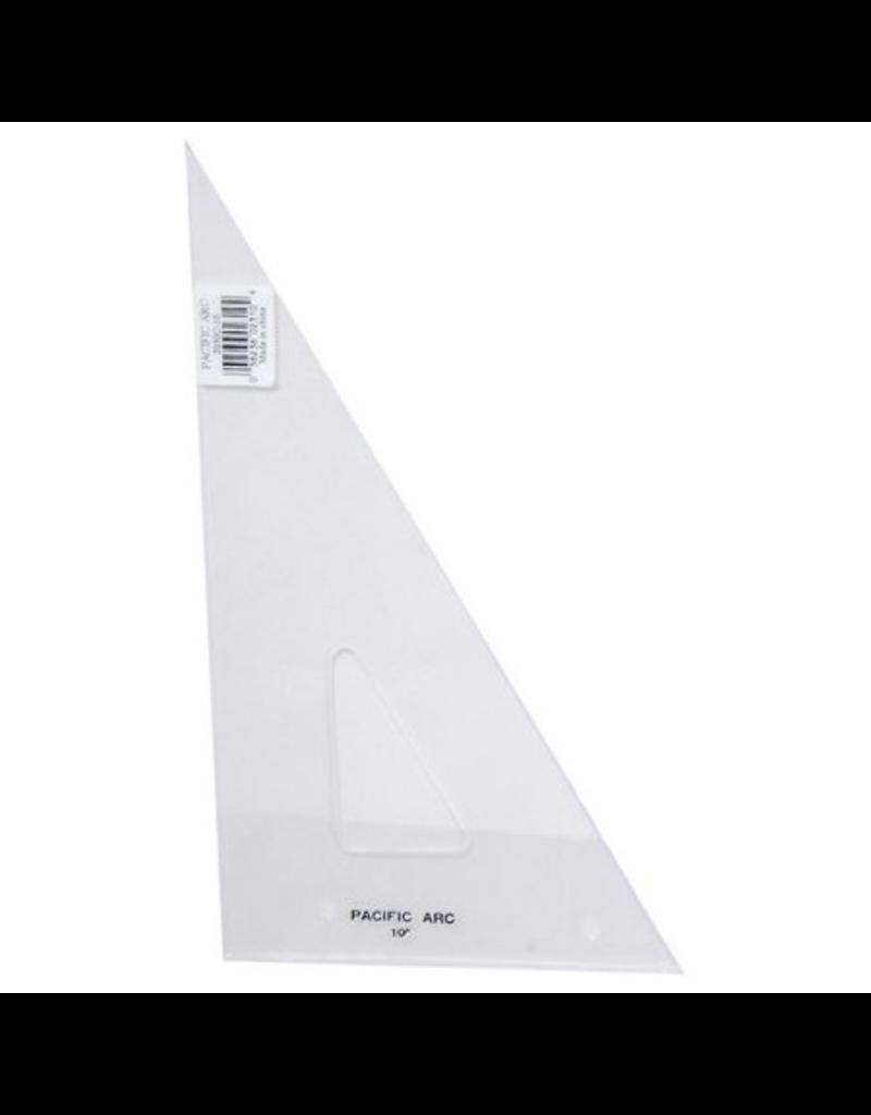 Triangle Clear 30/60/90 Pencil Edge
