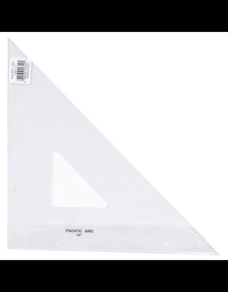 Triangle Clear 45/90 Pencil Edge