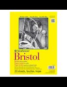 Bristol Paper Pad 300 Series 9x12 20 sheets/pad Smooth