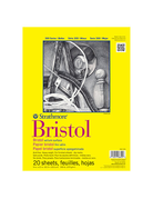Bristol Paper Pad 300 Series 11x14 20sheets/pad Smooth