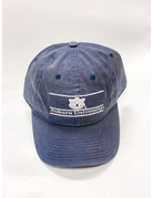 The Game White Print AU Auburn University Bar Navy Hat