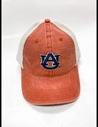 The Game Dark Orange AU Hat with Khaki Mesh