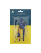 Protractor and compass set