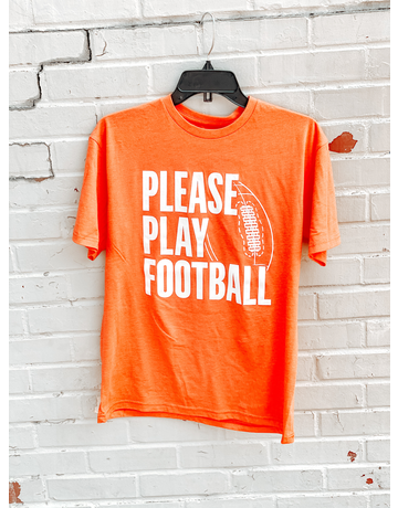 Please Play Football T-Shirt