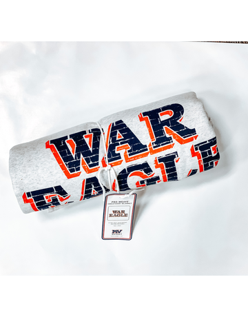 MV Sport Classic War Eagle Wall Sweatshirt Blanket