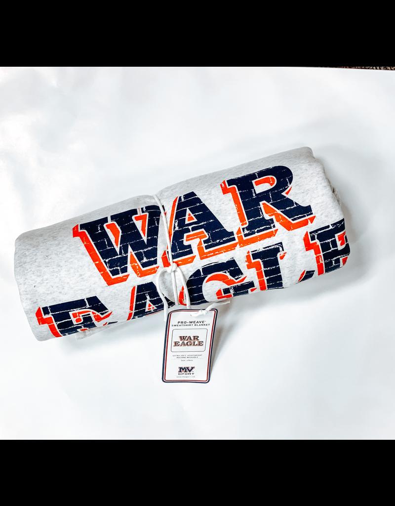 MV Sport Classic War Eagle Wall Sweatshirt Blanket