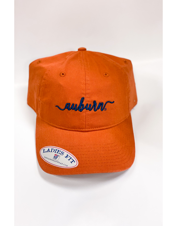 The Game Script Auburn Ladies Fit Hat, Clay