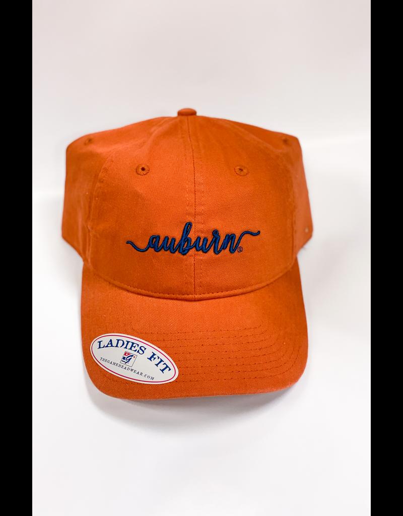 The Game Script Auburn Ladies Fit Hat, Clay