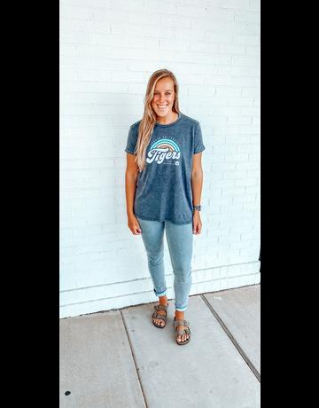 Auburn University Script Tigers Sunrise Script T-Shirt