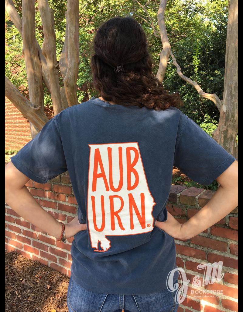 MV Sport AUB URN State Outline T-Shirt