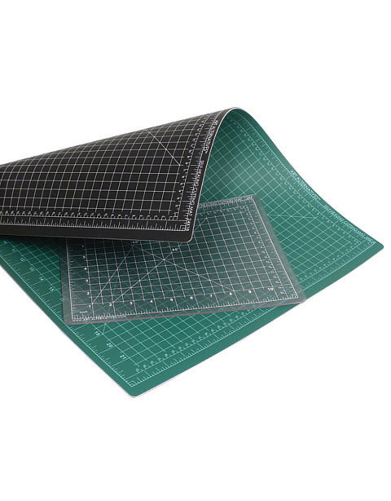 Cutting Mats Self-Healing Black and Green or Clear