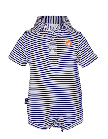 Carson Boys Striped Polo Onesie