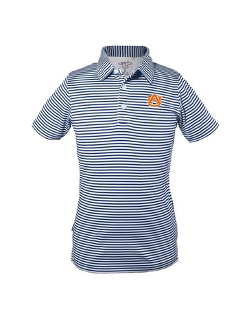 Carson Boys Striped Polo