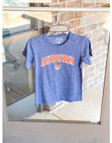League Arch Auburn Vintage Aubie Youth Victory Falls Tee