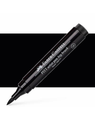 Faber Castell PITT Artists' Pen Big Brush #199 Black